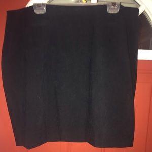 Venezia Clothing Co.  Black Skirt  Size 20